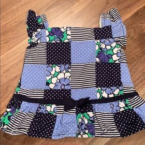 NWOT Gymboree patchwork sleeveless top